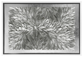 Oliver Gal Feather Angles High End Collection Art (Shadow Box Frame)