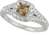 LeVian Le Vian® Bridal Diamond Engagement Ring (9/10 ct. t.w.) in 14k White Gold