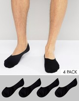 Jack and Jones Invisible Socks 4 Pack