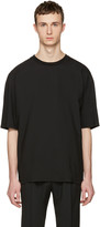 Lanvin Black Oversized T-shirt