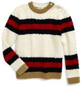 Gucci Girl's Wool Stripe Sweater