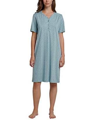 Schiesser Women's Nachthemd 1/2 Arm, 100cm Nightie,(Size: 038)