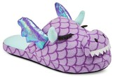 Xhilaration Women's Microfleece Dragon Scuff Slide Slippers
