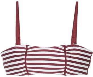 Duskii striped bandeau bikini