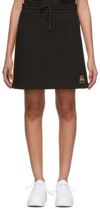McQ Black Racer Miniskirt