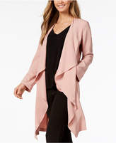 Nine West Draped Open-Front Top, Created for Macy's per Jacket, Created for Macy's