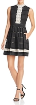 Tracy Reese Lace Applique Dress