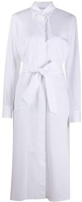 Loro Piana Tie-Waist Shirt Dress