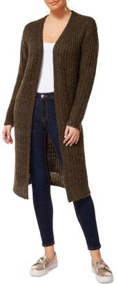 Dex Open-Front Long Cardigan