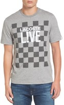 Lacoste Men's Check Graphic T-Shirt