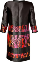 Etro Silk Patterned 3/4 Sleeves Dress