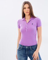 Polo Ralph Lauren Skinny Fit Stretch Mesh Polo