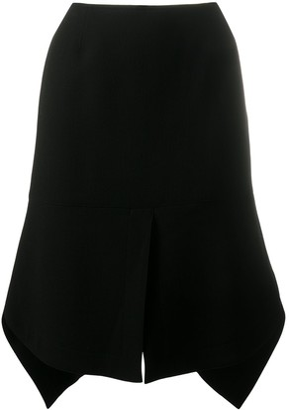 Alaïa Pre-Owned Asymmetric Knee-Length Skirt