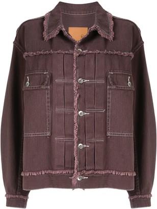 G.V.G.V. Fringed Twill Jacket