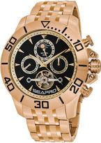 Seapro Sea-Pro Montecillo Mens Rose Goldtone Bracelet Watch-Sp5132