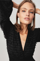 C/Meo Collective ENGRAINED TOP black