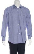 Tod's Plaid Long Sleeve Shirt