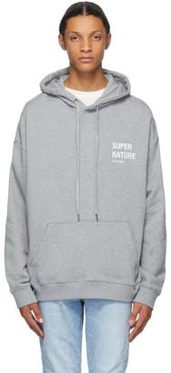 Ksubi Grey Super Nature Hoodie