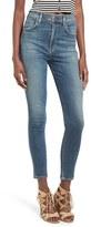 A Gold E Women's Agolde 'Roxanne' Super High Rise Skinny Jeans