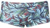 Lygia & Nanny foliage print swim trunks