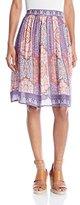 Lucky Brand Women's Tapestry Print Skirt