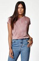 La Hearts Rose Short Sleeve Skimmer T-Shirt