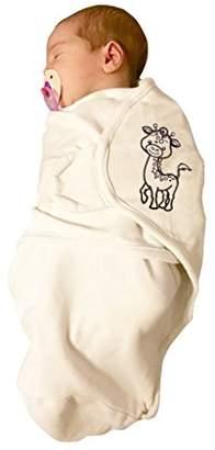Bo Jungle B-Wrap Swaddle Blanket (Large, Organic Giraffe)