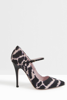 Giamba Leopard Mary Jane Pump