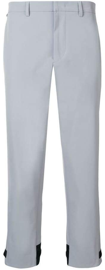 Prada mid rise tailored trousers