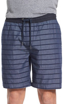 Original Penguin Stripe Drawstring Short