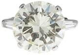 Platinum 11ct. Diamond Engagement Ring Size 7