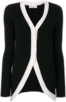 Sonia Rykiel contrast colour button cardigan