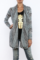 Veronica M Striped Cardigan