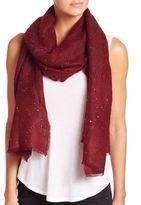 Tilo Sparkle Sequin Mohair & Wool Scarf
