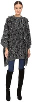 McQ by Alexander McQueen All Over Fringe Poncho Women's Clothing