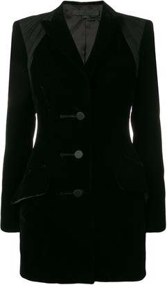 Alexander Wang Ruche Detailed Blazer