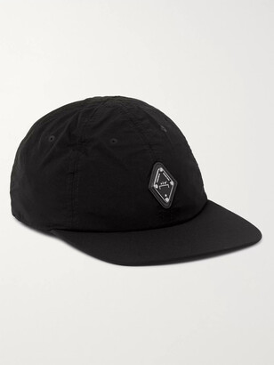 A-Cold-Wall* Logo-Appliqued Perforated Shell Baseball Cap