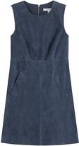 Diane von Furstenberg Suede Mini-Dress