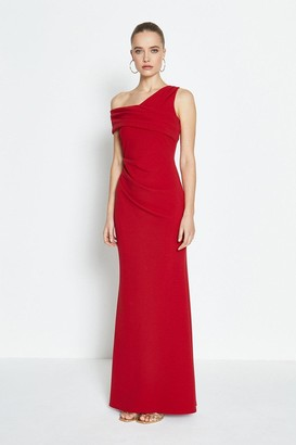 Coast Asymmetric Neckline Maxi Dress