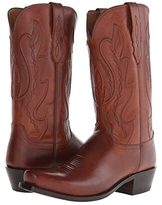 Lucchese Cole (Tan) Cowboy Boots