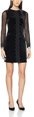 Joe Browns Women's Desirable Velvet Dress Party (Black A)