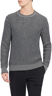 Theory Men's Lewis Eco Cotton Crewneck Sweater
