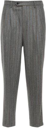 LC23 Pinstripe Wool Pants