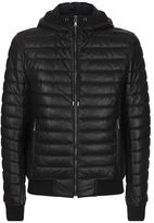 Dolce & Gabbana Quilted Lambskin Hooded Jacket