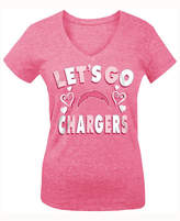5th & Ocean San Diego Chargers Pink #1 Fan T-Shirt, Girls (4-16)