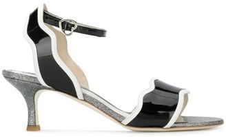 Bella Vita Francesca Bellavita Stardust kitten heel sandals