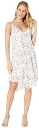 BCBGeneration Printed Casual Dress TGM6214578 (Off-White) Women's Dress