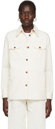 M Missoni White Corduroy Shirt
