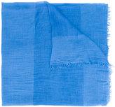 Faliero Sarti frayed scarf - women - Silk/Modal - One Size