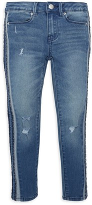 Calvin Klein Jeans Little Girl's Distressed Jeans